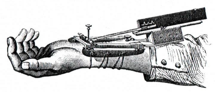 Sphygmographe de E.J. Marey, 1878